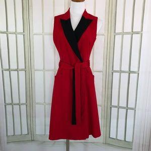 Calvin Klein Size Small Dress A-Line Front Zip